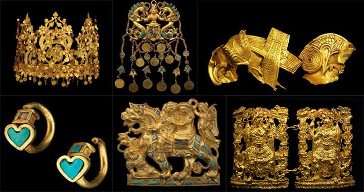 بزرگترین گنجینه جهان در طلاتپه افغانستان - یادگار هزاره دوم قبل از میلاد , افغان تراول afghantravelaf