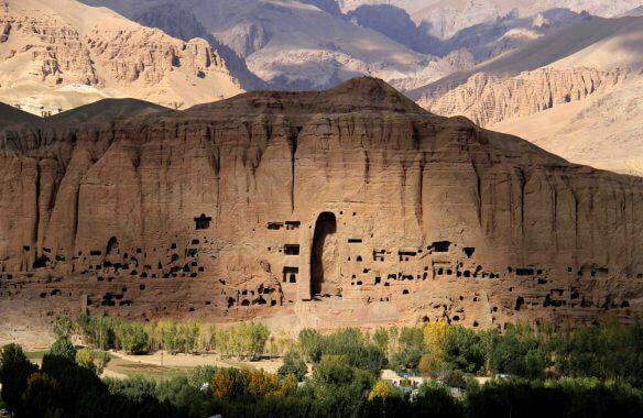 تندیس بودا در افغانستان از کهن ترین آثار تاریخی جهان , افغان تراول afghantravelaf