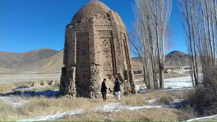 گنبد بیگم ؛ بنایی با معماری اسلامی در غزنی , افغان تراول afghantravelaf