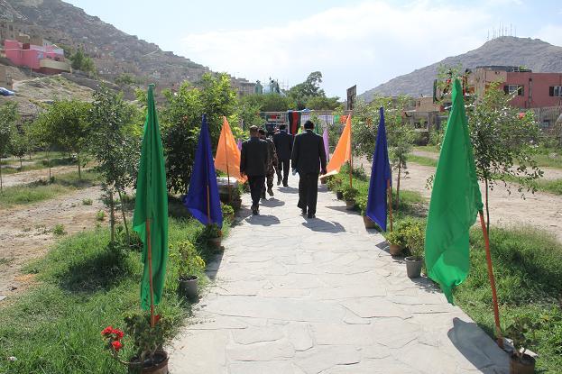 باغ قاضی از باغ های تاریخی افغانستان , افغان تراول afghantravelaf