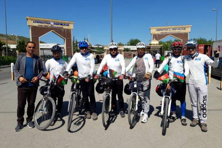 دوچرخهسواران راه لاجورد افغانستان پس از دو هزار کیلومتر، به ترکیه رسید , افغان تراول afghantravelaf