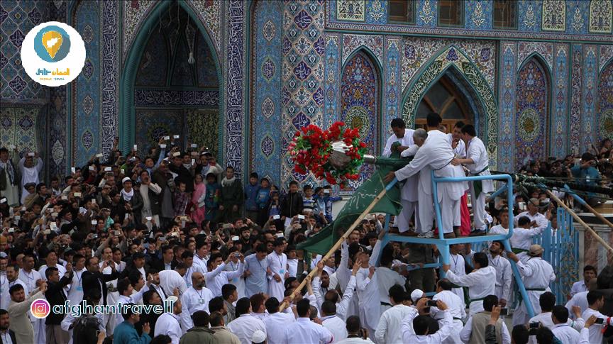 مزار شریف افغانستان پایتخت جشن جهانی نوروز , افغان تراول afghantravelaf